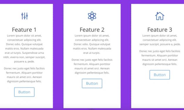 Vertikale Ausrichtung von Buttons / Tasten in Divi